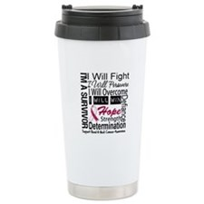Head Neck Cancer Persevere Travel Mug