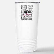Head Neck Cancer Persevere Travel Mug