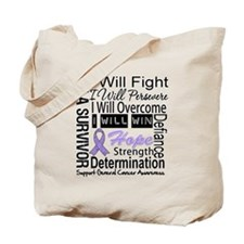 General Cancer Persevere Tote Bag
