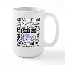 General Cancer Persevere Mug