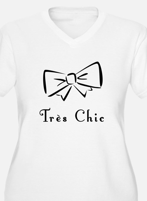 Tres Chic bow T-Shirt