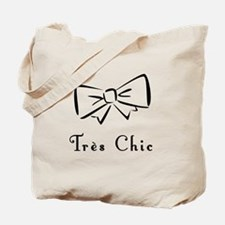 Tres Chic bow Tote Bag
