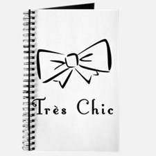 Tres Chic bow Journal