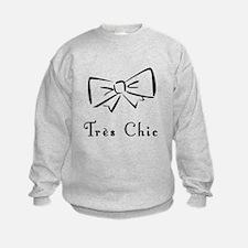 Tres Chic bow Sweatshirt