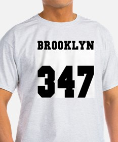 """BRONX 347"" Ash Grey T-Shirt"