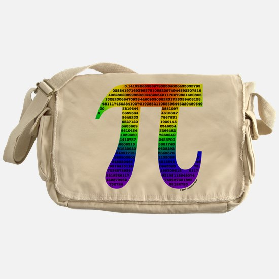 Evan's Pi #1 Messenger Bag