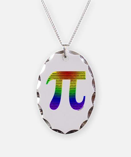 Evan's Pi #1 Necklace