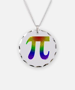 Evan's Pi #1 Necklace Circle Charm