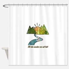 Wander Shower Curtain