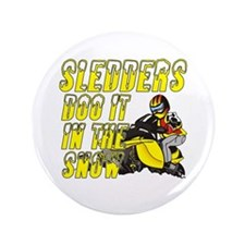 "Sledders Doo 3.5"" Button"