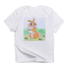 Bunny frolicking Infant T-Shirt