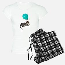 Cat Balloon Pajamas