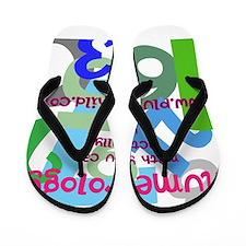 numerology Flip Flops