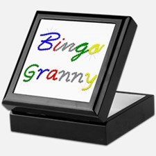 Bingo Granny Keepsake Box