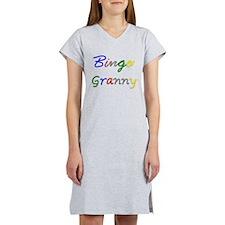 Bingo Granny Women's Nightshirt
