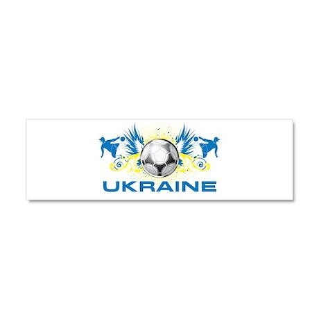 UKR6.png Car Magnet 10 x 3