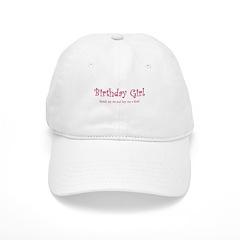 Birthday Girl 2 Baseball Cap