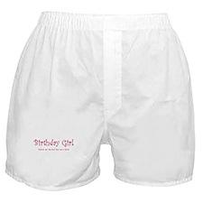Birthday Girl 2 Boxer Shorts