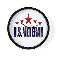 U.S. Veteran Wall Clock