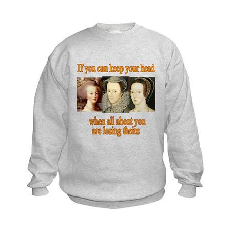 Meanings Change Kids Sweatshirt