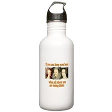 Meanings Change Sports Water Bottle
