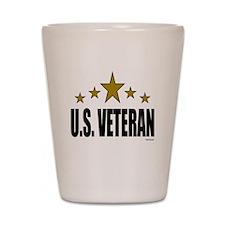 U.S. Veteran Shot Glass