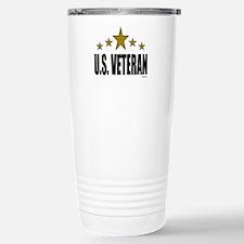 U.S. Veteran Stainless Steel Travel Mug