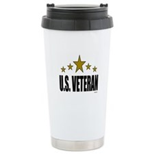 U.S. Veteran Travel Mug