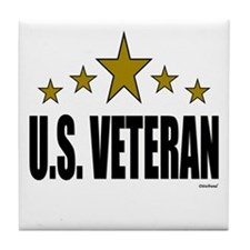 U.S. Veteran Tile Coaster