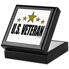 U.S. Veteran Keepsake Box
