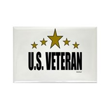 U.S. Veteran Rectangle Magnet