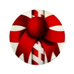 Happy Holidays Candy Cane 3.5