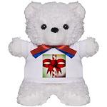 Happy Holidays Candy Cane Teddy Bear