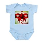 Happy Holidays Candy Cane Infant Bodysuit