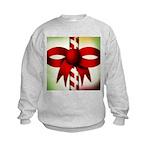 Happy Holidays Candy Cane Kids Sweatshirt