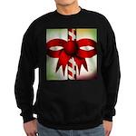 Happy Holidays Candy Cane Sweatshirt (dark)