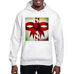 Happy Holidays Candy Cane Hooded Sweatshirt