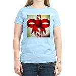Happy Holidays Candy Cane Women's Light T-Shirt