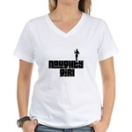 naughty girl Women's V-Neck T-Shirt