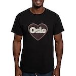 Oslo Men's Fitted T-Shirt (dark)
