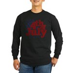 4th of July Long Sleeve Dark T-Shirt