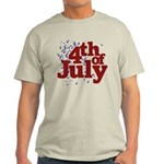 4th of July Light T-Shirt