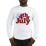 4th of July Long Sleeve T-Shirt