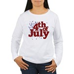 4th of July Women's Long Sleeve T-Shirt