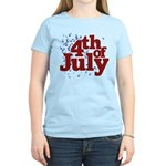 4th of July Women's Light T-Shirt
