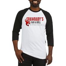 Crawbaby's Bar & Grill Baseball Jersey