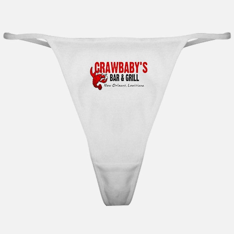 Crawbaby's Bar & Grill Classic Thong