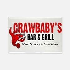 Crawbaby's Bar & Grill Rectangle Magnet