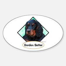 Gordon 3 Oval Decal