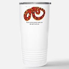 Prymal Reptiles Logo Travel Mug